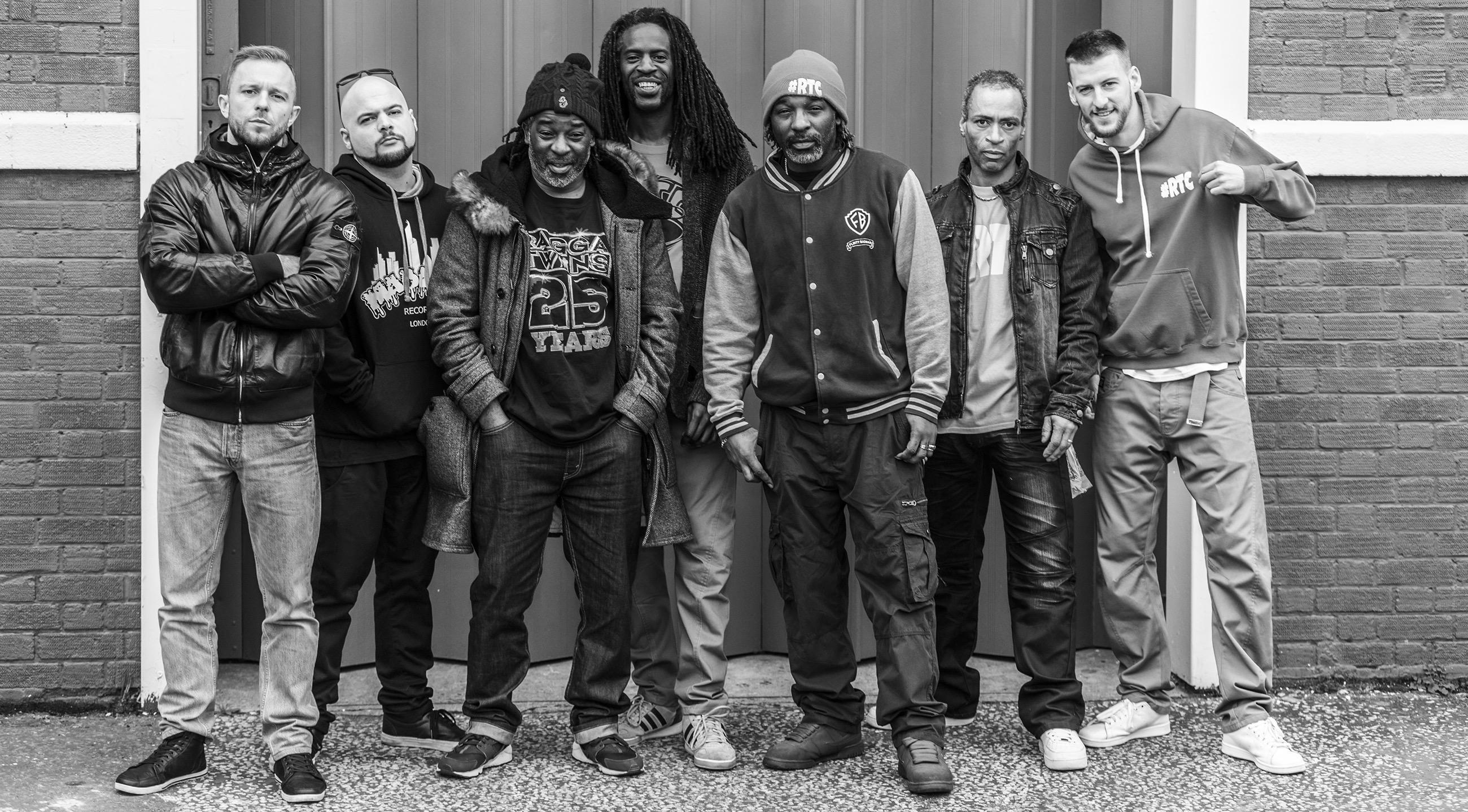 Ragga Twins Crew PyroRadio, PyroRadio.com, Flinty Badman, Deman Rockers, MC Co-Gee, Pedro Slimer, dj Danny Shutdown, DJ BLAZE-MOORE, Mtek1lla