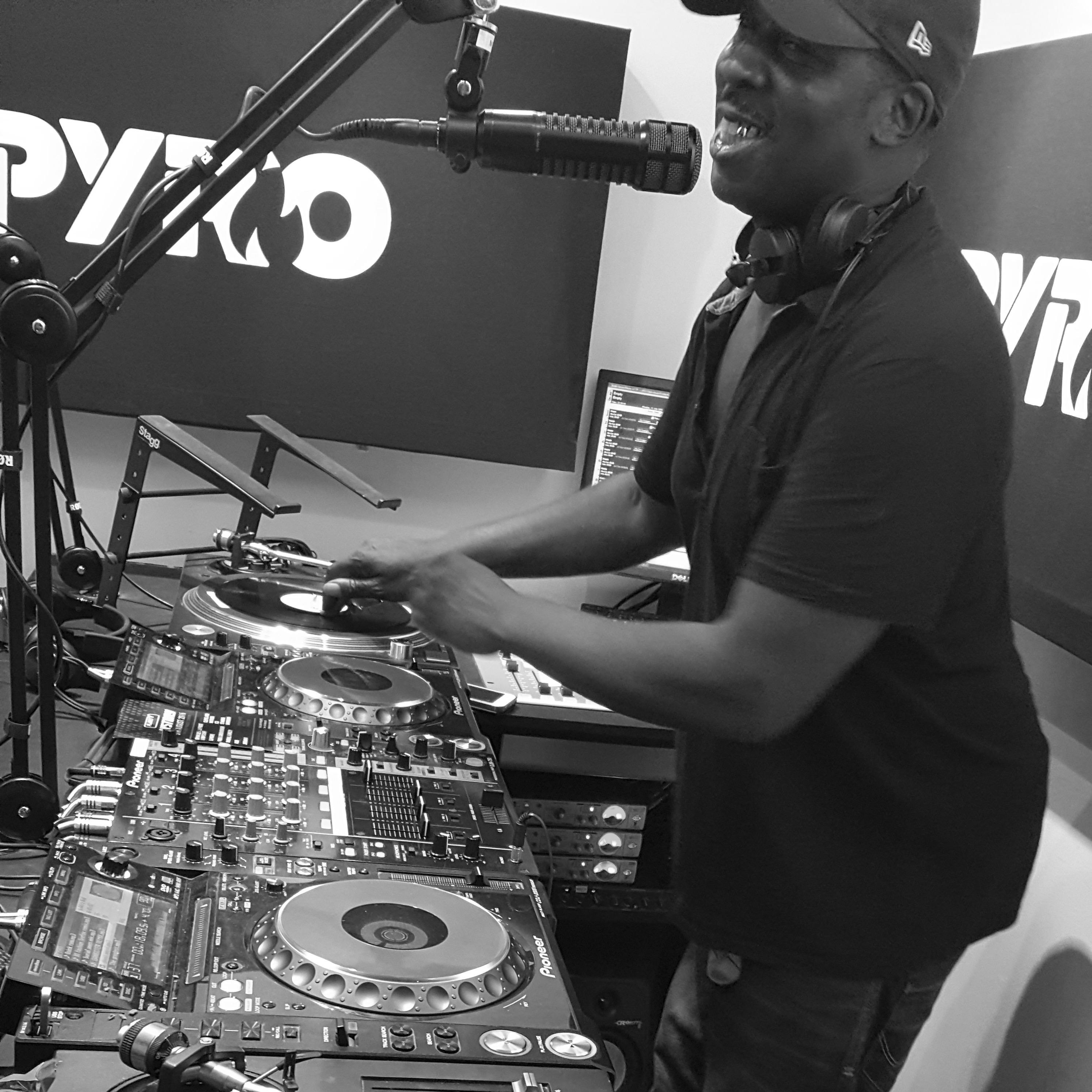 Bryan Gee, PyroRadio, PyroRadio.com